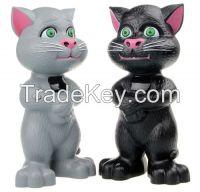 Digital Tom Cat shape USB/TF card/FM Radio Speaker