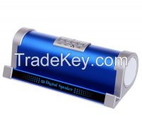 New design Wireless Bluetooth Speaker with FM Radio, USB and TF card slot, special design for tablet PC laying