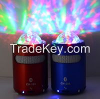 Hot Sale Wireless Bluetooth Speaker with LED disco light, FM Radio, USB and TF card slot