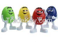 Novelty Mini MM Cartoon Toy Shape USB/TF/FM Radio Speaker