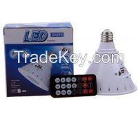 New 15Watt LED corn Light USB/TF/FM Radio Speaker