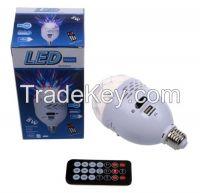 New LED Disco Light USB/TF/FM Radio Speaker