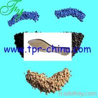 Sell thermoplastic rubber for running shoe soles