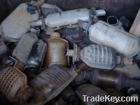 Sell USED CATALYTIC CONVERTERS