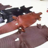 GENUINE LEATHER / CROCODILE SKIN / FROG SKIN / STINGRAY SKIN