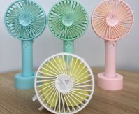Foldable USB rechargeable fan with base