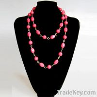 Sell Fashion simple beaded necklace 1178