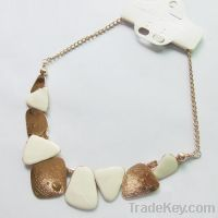 Sell new white painting necklace 171