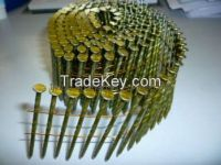 Sell 15 degree Wire Coil Nails