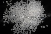 Recycled and virgin PP plastic granules