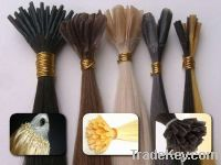 Sell  pre-bonded hair extensions