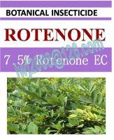 7.5% Rotenone EC, botanical pesticide, plant extract