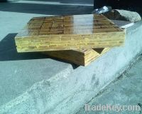 Sell bamboo pallets for concrete making machine