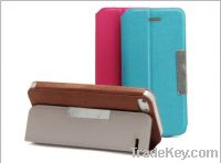Sell standing leather case for iphone5