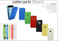Sell Pu leahter case for iphone 5C