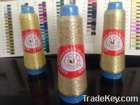 Pure gold metallic embroidery yarn