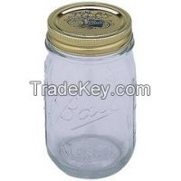 Glass jar, glass container.Food Storage Glass Beverage