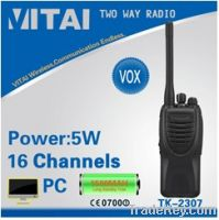 Sell TK-2307 Portable VHF Walkie Talkie