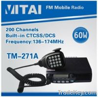 Sell TM-271A VHF Vehicle Radio