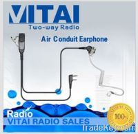 Sell VITAI EMP-1563B Throat Control Air Conduit Walkie Talkie Headset