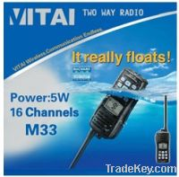 Sell IC-M33 VHF waterproof marine radio