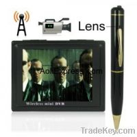 Sell 3.5 Inch Wireless HD DVR System with Pen Camera