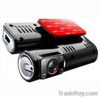 Sell Dual car DVR Camera DVR/car black box X2
