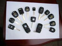 transponder keys and remote key