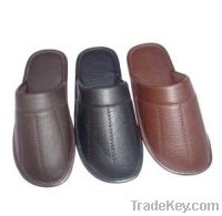 Sell PU upper men house shoes