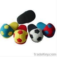 Sell 3D Football Children Indoor Slipper