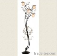 Sell 4 Light Stained Glass Floor Lamp