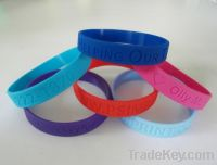 Sell Promotion silicone bracelet with custom logo