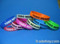 Sell Factory price silicone bracelet with custom logo