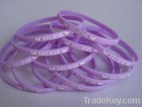 Sell Promotion slim Silicone bracelet with custom logo