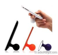 Sell Silicone cellphone holder with sucking disc-ISTAND