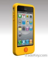 Sell For Iphone4, 4S silicone protective case