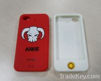Sell for iphone4, 4S promotion silicone protective case