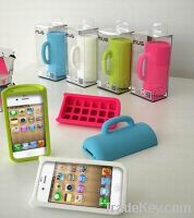 Sell Silicone Mug shell for Iphone4, Iphone4S