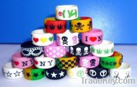 Sell promotion silicone fingure rings