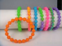 Sell factory price silicone beaded bangle