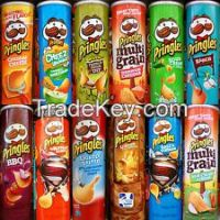 Pringles 165grm With English and Arabic Text