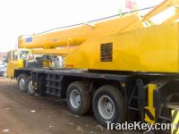 Sell used KATO 50t truck crane.