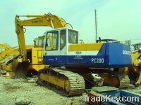 Sell Used KOMATSU PC200-5 Excavator