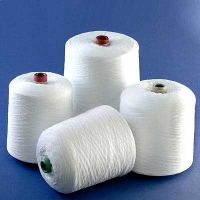 100% Ring spun polyester yarn for weaving and knitting