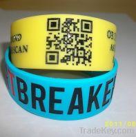 Sell Scannable Custom ID QR code Wristband
