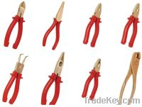 Sell copper alloy non-sparking pliers, explosion proof hand tools.
