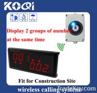 Sell Elevator buzzer bell for building site show 2 groups of number at