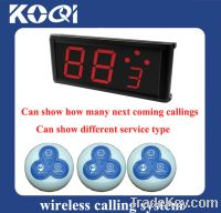 Sell Wireless Resturant Bell with long transmitted distance