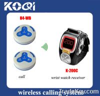 Sell Wireless call system waiter pager system watch wrist