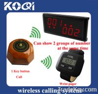 Sell Cafe house call pager system for service K-300+236+AB